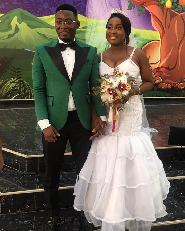 Mr and Mrs Owusu Agyen